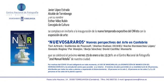 Nuevos&Raros. Nuevas perspectivas del Arte en Cantabria