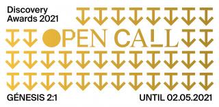 Discovery Awards 2021: Open Call. Génesis 2:1