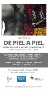 Seydou Cissé & Katarzyna Wiesiolek. De piel a piel