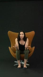 Andrea Fraser, Projection, 2008. Cortesía de la artista y Galerie Nagel Draxler