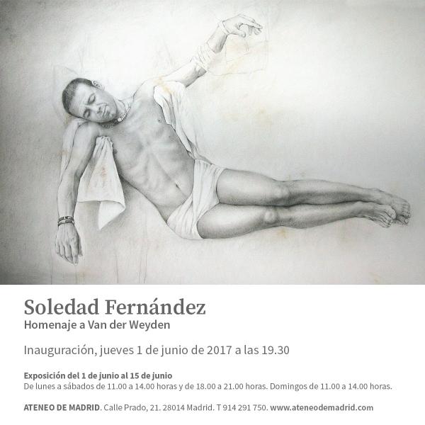 Soledad Fernández. Homenaje a Van der Weyden