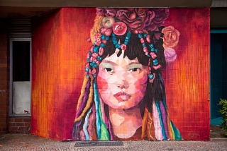 Obra de Uriginal, cortesía de Adda Gallery Ibiza