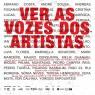 Ver as vozes dos artistas
