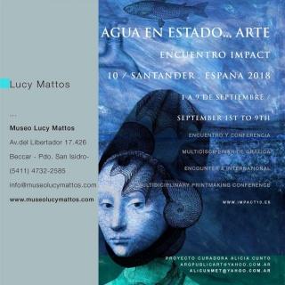 Lucy Mattos. Agua en estado... arte