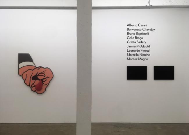 Exposição coletiva artistas do acervo