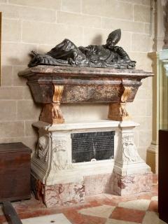 Guglielmo della Porta, monumento funerario de Luis I de Torres — Cortesía del Museo Nacional de Escultura