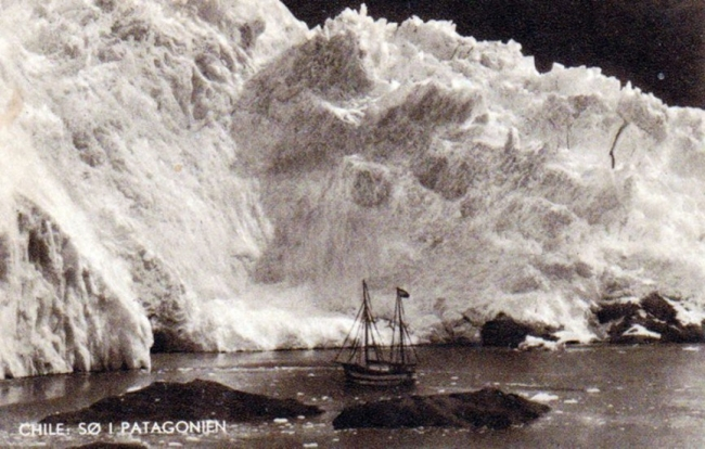 Exploración de glaciares de la Patagonia en 1929, El Feuerland de Gunter Plüschow — Cortesía del Centro de Arte Espronceda