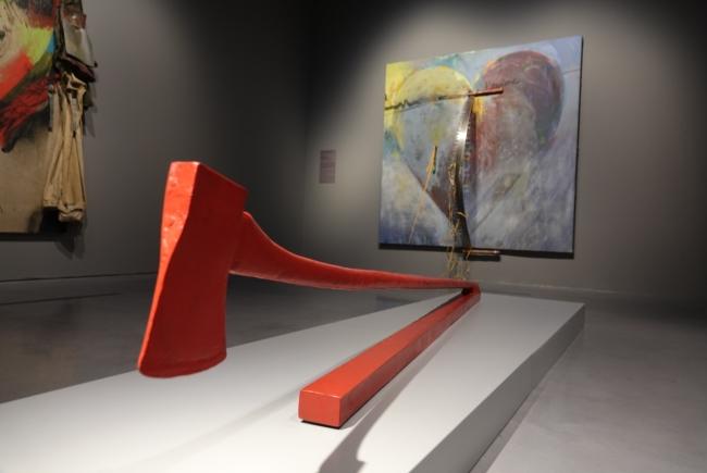 Vista de la exposición de Jim Dine en el Centre Pompidou Málaga — Cortesía del Centre Pompidou Málaga