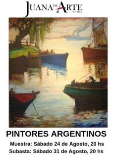 2da SUBASTA MAESTROS DE LA PINTURA ARGENTINA