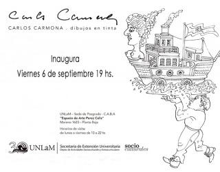 Carlos Carmona. Dibujos en tinta