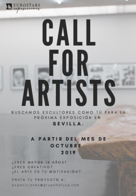 Call for Artists. Sevilla
