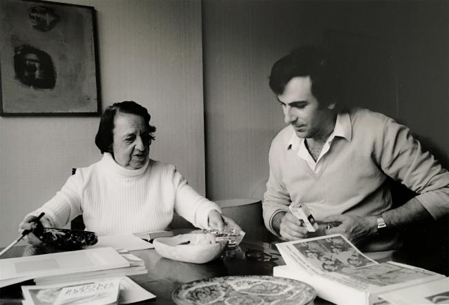 María Zambrano y el método de los claros: Cuaderno de notas para un ensayo en imágenes — Cortesía del Círculo de Bellas Artes de Madrid