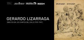 Gerardo Lizarraga. Dibujos en los campos del exilio (1939-1941)