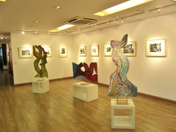 Obras da exposição