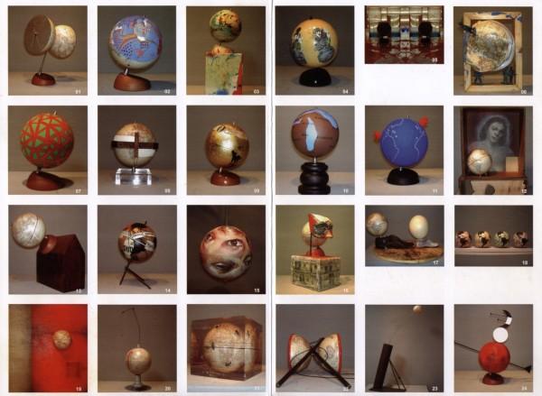 Algunas de las obras de la exposición.