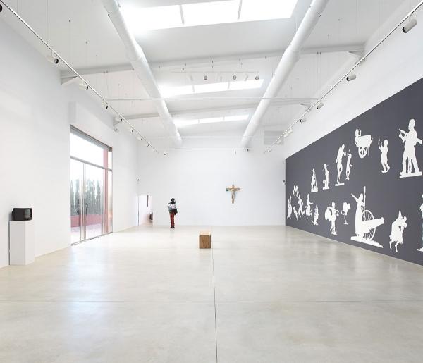Vista de la exposición. Cortesía de Art Projects Ibiza y Lune Rouge