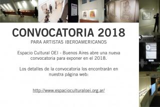 Convocatoria 2018 Espacio Cultural OEI