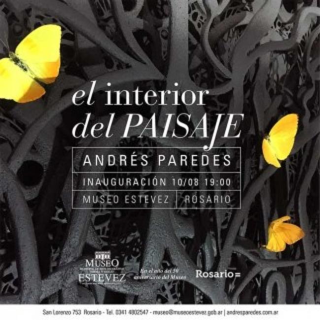 Andrés Paredes, el interior del PAISAJE