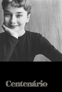 Irving Penn Centenário. Foto: Audrey Hepburn, Paris, 1951 © Condé Nast, edição da Vogue de 1 novembro de 1951. Imagen cortesía Instituto Moreira Salles