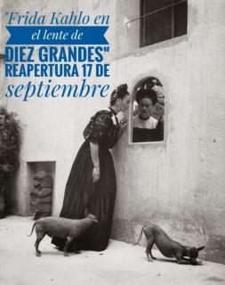 Frida Kahlo, en el lente de diez grandes