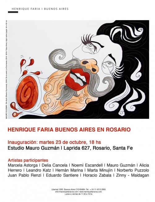 Henrique Faria BA en Rosario. Imagen cortesía Henrique Faria Buenos Aires