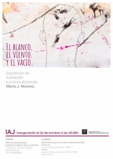 María J. Moreno. El blanco, el viento y el vacío
