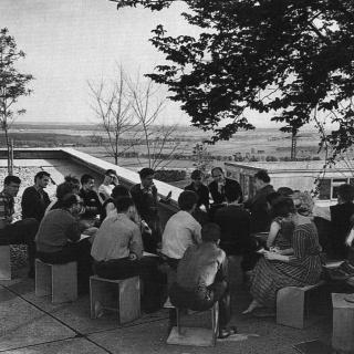 Ernst Scheidegger, Escuela de Ulm, 1962. Ulmer Museum-hfg Archiv, Ulm — Cortesía del Museo San Telmo