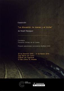 Rosell Meseguer. La disuasión: la marea y el límite — Cortesía del Centro Cultural Las Cigarreras