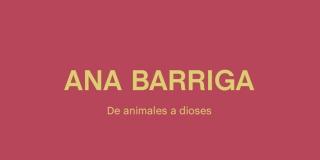 Ana Barriga. De animales a dioses