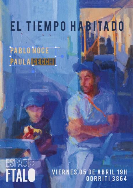 Paula Cecchi y Pablo Noce