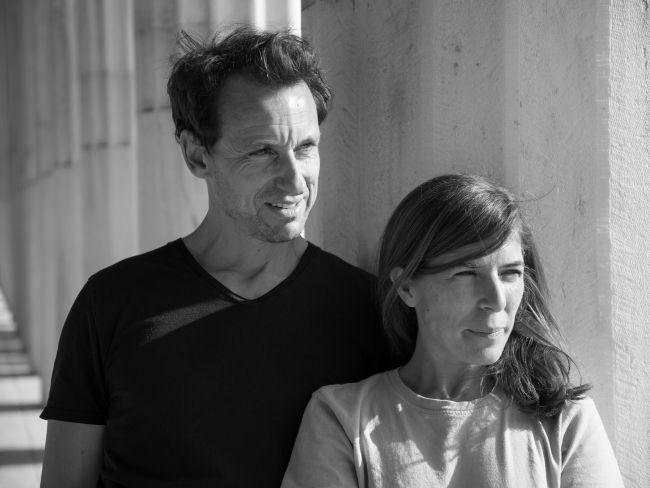 Retrato Christian Bourdias y Eva Albarrán © PEZO VON ELLRICHSHAUSEN — Cortesía de la Galería Solo - Christian Bourdais & Eva Albarrán