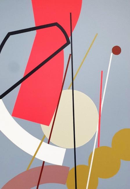Hell'O Collective. Untitled 5 (2019). Acrílico sobre madera. 35x50 cm. — Cortesía de Delimbo