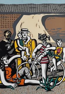 Equipo Crónica / Un día en el campo de la serie composiciones 1971 © Equipo Crónica-derechos del coautor Manolo Valdés, VEGAP, Valencia, 2019 — Cortesía del IVAM