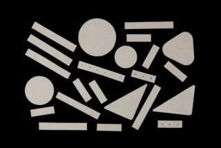 Ánfora, grotesco, armazón, maniquí. Una exposición sobe pedagogía — Cortesía del Museo Patio Herreriano