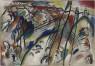 Vasily Kandinsky, Improvisación 28 (segunda versión), 1912. Óleo sobre lienzo, 112,6 × 162,5 cm. Solomon R. Guggenheim Museum, Nueva York, Colección Fundacional Solomon R. Guggenheim, por donación 37.239 © Vasily Kandinsky, VEGAP, Bilbao, 2020