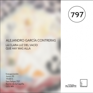 Alejandro García Contreras. La clara luz del vacío que hay más allá