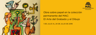 Obra sobre papel en la colección permanente del MAC: El Arte del Grabado y el Dibujo