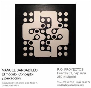 Manuel Barbadillo, El módulo. Concepto y percepción
