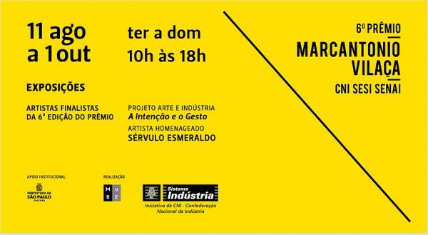 6º Prêmio CNI SESI SENAI Marcantonio Vilaça