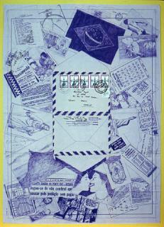Obra de Josias Benedicto / Mostra Copy-Art. Imagen cortesía RoMa in Press