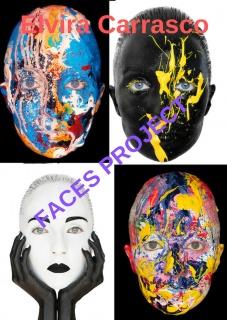 Elvira Carrasco. Faces Project