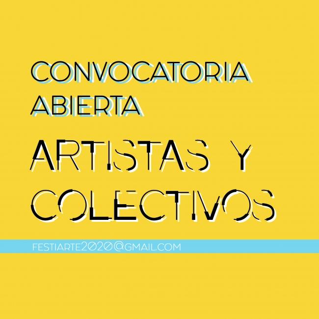 Convocatoria de Artistas y Colectivos para Festiarte 2019