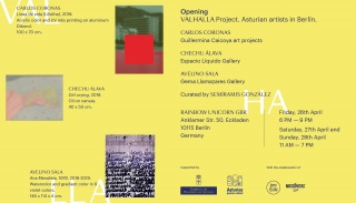 VALHALLA Project. Asturian Artist in Berlin