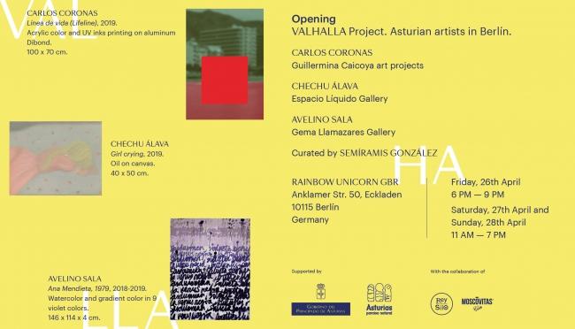 VALHALLA Project. Asturian Artist in Berlin