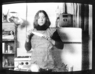 Martha Rosler, Semiotics of the kitchen, 1975. Video, 6 minutes.