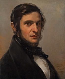 """Federico de Madrazo, """"Francisco Aranda y Delgado"""", 1839 — Cortesía del Museo del Romanticismo"""