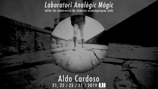 Taller de construcción de cámaras estenopeicas con Aldo Cardoso en Materic.org