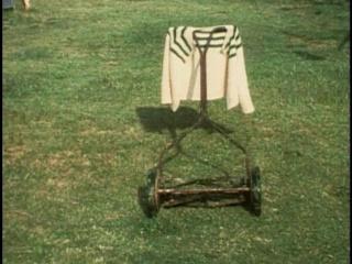 Martha Rosler, Backyard Economy I-II, 1974 (fotograma del vídeo). Vídeo, monocanal, color, sin sonido. Duración: 3' 26''. Colección MACBA. Depósito Ajuntament de Barcelona. © Cortesía de Martha Rosler, 2020