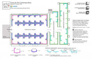 Plano de la Feria - Floor Plan