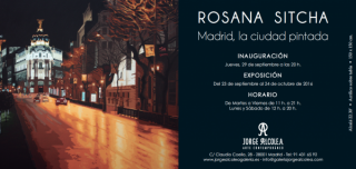 Rosana Sitcha, Madrid, la ciudad pintada